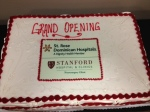 Let them eat Cake! The cake from the grand opening.
